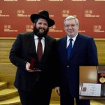 Picture of the Day: Siberia Governor Honors Shliach