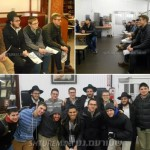 Photos: YU Students Visit the Ohel