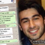Terror Victim's Last Text to a Friend: 'Keep Shabbos'