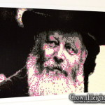 Picture of the Day: Rebbe's Portrait Made of Lego
