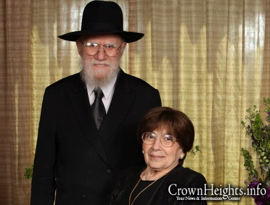 Rabbi Chaim and Esther Ciment, may they live and be well.