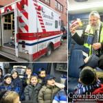 Photos: ULY Students Tour Hatzalah Ambulance
