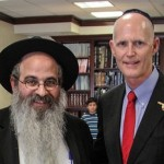 Shliach Co-Chairs Florida Governor's Inaugural Prayer