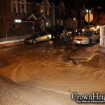 Water Main Break Leaves Dozens without Water and Heat
