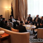 Shluchim at Historic Meeting with Australian Prime Minister