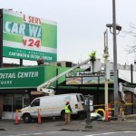 8-Story Building to Replace BP Gas Station