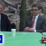 Video: Rick Perry Visits Lubavitch of Iowa's Deli
