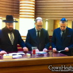 German Justice Minister Visits Berlin Chabad Center