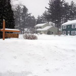 New Englanders Trudge Forward, Under Record Blankets of Snow