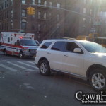 3 Car Collision on Kingston Avenue