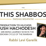 Shabbos at the Besht: Intro to Kiddush Hachodesh