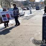 Fur Sale Event Draws Four Protestors