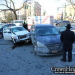 Erev Shabbos Accident Injures Five