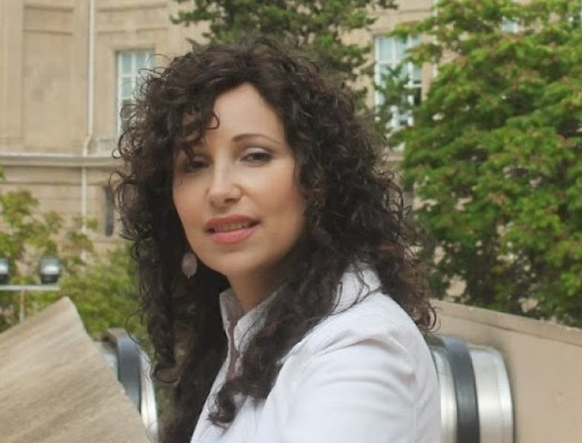 Mrs. Chana Gopin, Chabad Emissary to Lugansk, Ukraine.