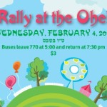 Wednesday: Rally at the Ohel