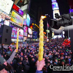LIVE AT 8:45pm: Havdalah in Times Square