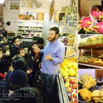 Students Treated to Tour of Exotic Tu B'Shvat Fruits