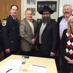 Port Washington Shliach Inducted as Police Chaplain