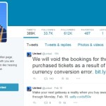 United Will Not Honor Low Fares Caused by Glitch