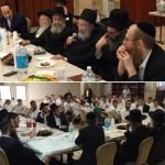 Torah V'Daas Mashgiach Marks 90th at Chabad Yeshiva