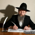 Picture of the Day: Writing the Children's Torah