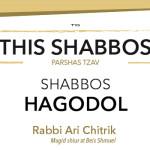 Shabbos at the Besht: Shabbos Hagodol