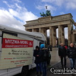 First Ever 'Mitzvah Tank' Rolls Through Berlin