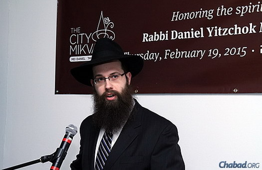 Rabbi Meir Shimon Moscowitz, head shaliach of Lubavitch Chabad of Illinois and director of Lubavitch Chabad of Northbrook, Ill.