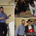 Montreal Yeshiva Staff Receive CPR and AED Training