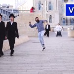 Video: Dancing Behind People in Jerusalem