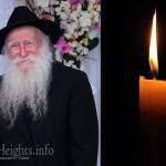 Boruch Dayan Hoemes: R' Chaim Serebryanski, 85, OBM