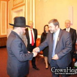 Ukraine Shliach Honored With Diplomatic Title