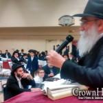 Montreal Holds Kinusei Torah on Chol Hamoed