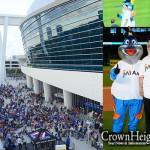 Chabad Marks Pesach at Baseball Opening Day