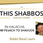 Shabbos at the Besht: From Pesach to Shavuos