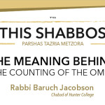 Shabbos at the Besht: The Meaning Behind the Counting of the Omer