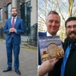 Humans of Amsterdam: Matzah for the Mayor