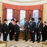 President Obama Welcomes Chabad Delegation