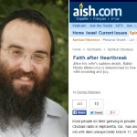 Faith After Heartbreak: Aish Profiles Rabbi Hirshy Minkowicz