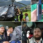 Shliach Borrows a Chopper and Rescues Stranded Israelis