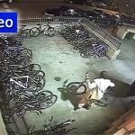 Video: Aggressive PanhandlerSteals Bicycle