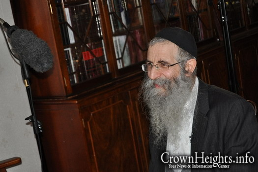 Interview with Rabbi Dovber Klein.