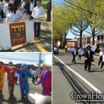 Cheder at the Ohel Marches in Long Island