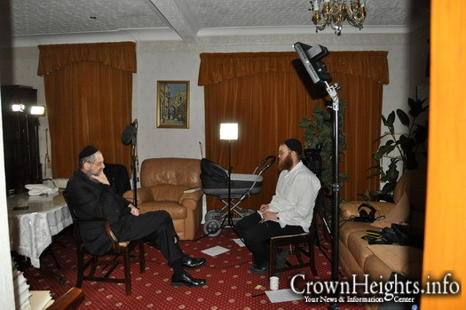 A surprise interview with Rabbi Dovid Schurder who happened to be in town.