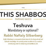 Shabbos at the Besht: Teshuva – Mandatory or Optional?