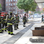Fire Breaks Out in Building Opposite Lefferts Park