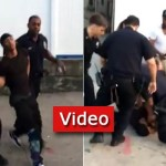 Video: Violent Altercation with Police Puts Toddler in Danger