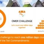 Million Mitzvah Challenge With Chabad.org App