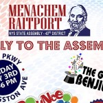 Sunday: Mendy Raitport Hosting Community Rally