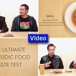 Video:  The Ultimate Chassidic Food Taste Test
